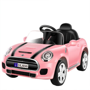 Mini Cooper Style Mobil Aki – Pink