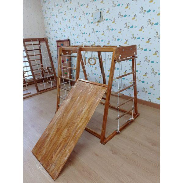 Brakiasi Natural Wood – Complete Set Type Jaring Samping 2