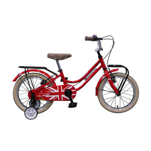Toys London Taxi Kids Bike 12 Inch – Red