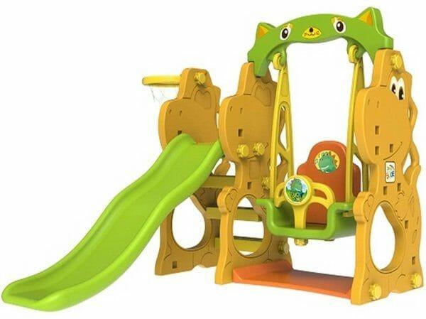 Tobebe Jumbo Dino Slide and Swing
