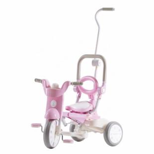 Toys IIMO Tricycle 02 Folding Macaroon – Pink