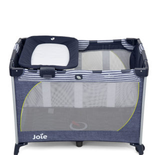 Cribs and Matresses Joie Meet Commuter Change Travel Cot – Denim