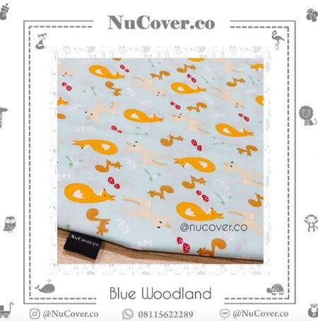 Nursery Tambahan Pad Nuna Leaf – Custom Motif