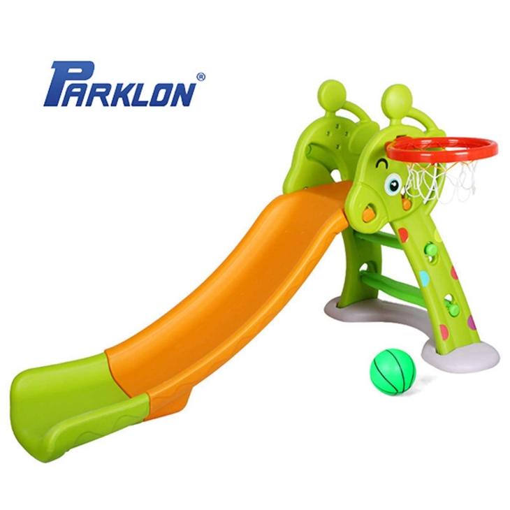 Parklon Fun Slide Perosotan – Green Orange
