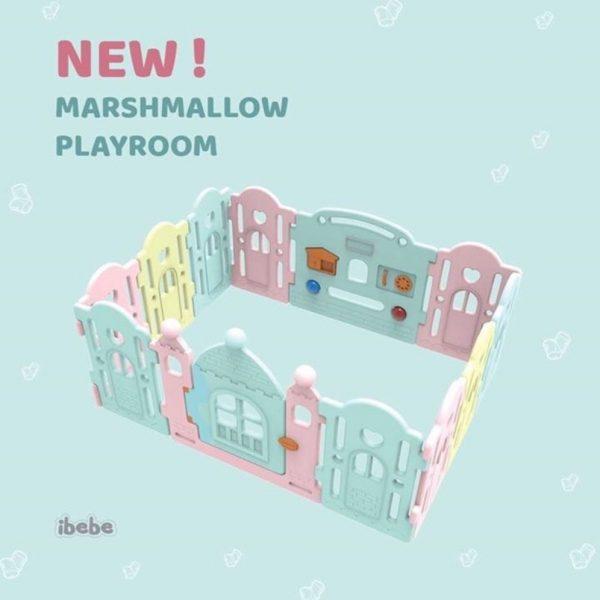 Ibebe Marshmallow Fence 10+2 – Colorfull 3
