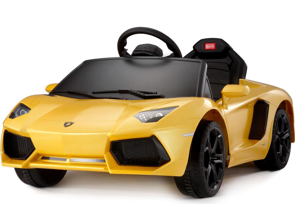 Toys Mobil Aki Rastar Lamborghini Urus Concept Electric Yellow
