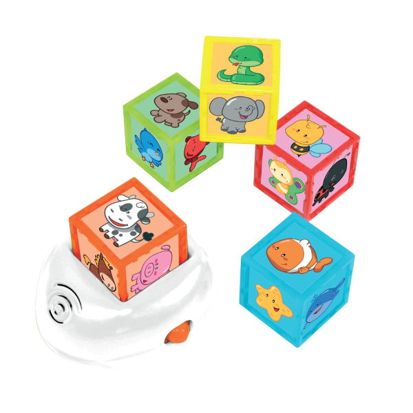Learning & Educational ELC Animal Cubes