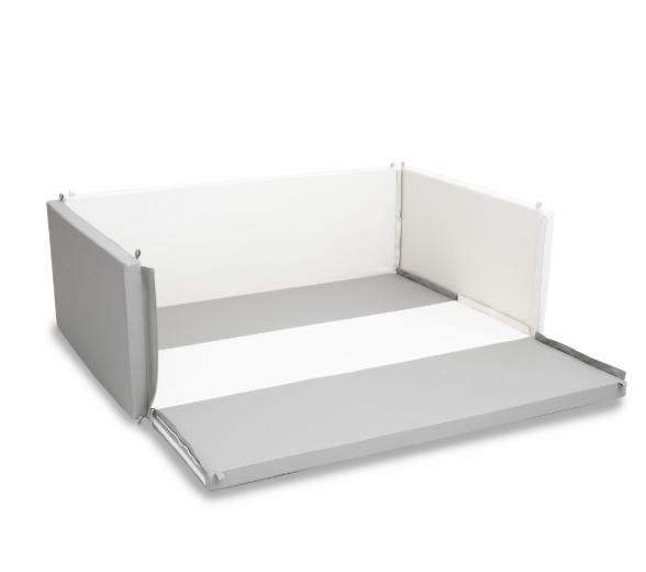 Safety Lumba Playmat Bumperbed 5cm – Scandinavian White