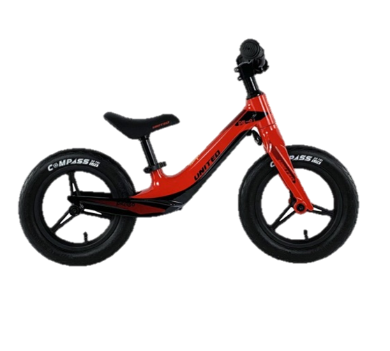 Toys United Picabo Balance Kick Bike – Red