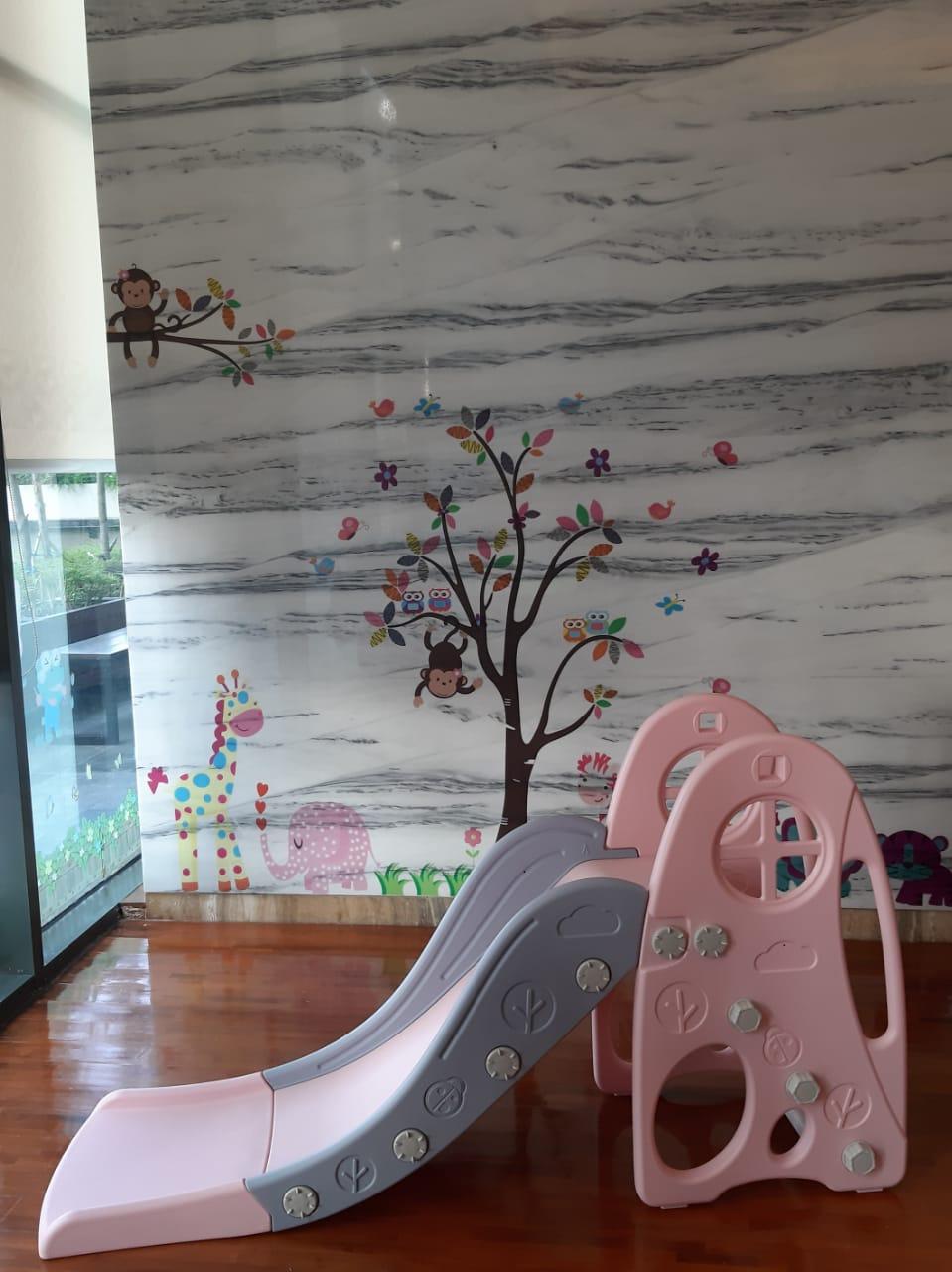 Toys Ibebe Forest Slide – Pink