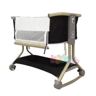 Babyelle Cloud Bedside Crib Box Bayi – Dark Grey