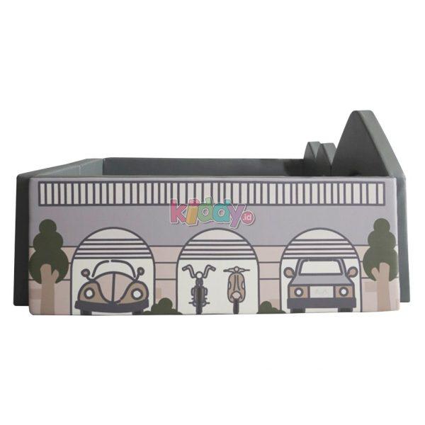 Empuk Nest+ Bumperbed Tebal 8cm – Car Garage 3