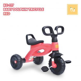 Labeille Baby Dolphin Tricycle – Red