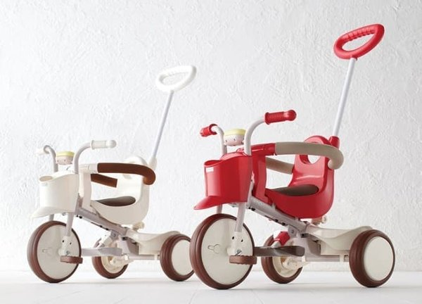 Toys IIMO Tricycle 01 Non Folding – Brown