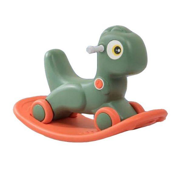 Happy Play Rocking Dino – Green