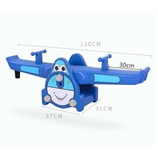 Happy Play Airplane Seesaw – Blue