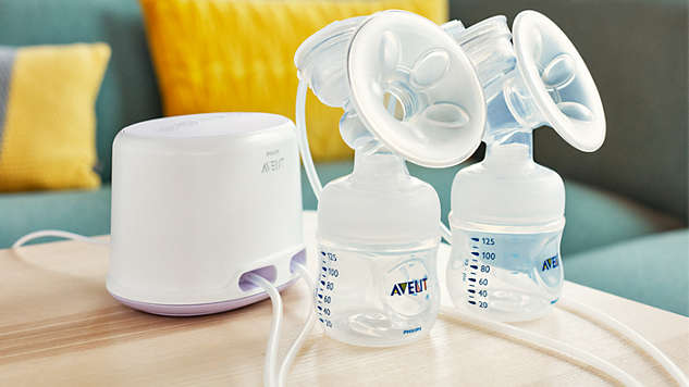 Breastpump Avent Comfort Twin Electric Breastpump