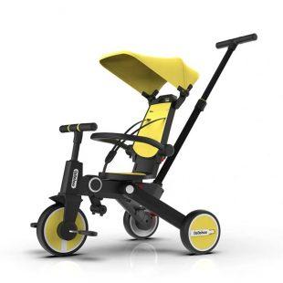 Bebehoo Gen 2 Folding Trike 3in1 – Yellow