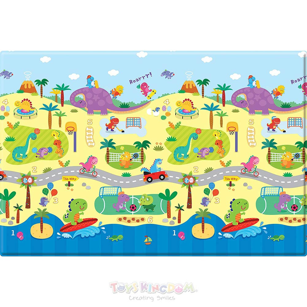Safety Baby Care PVC Playmat Dino Sports – Medium
