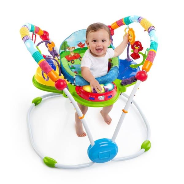 Toys Baby Einstein Neighborhood Friends Activity Jumperoo (DISKON – Musik Tidak Menyala)