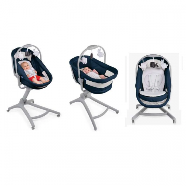 Chicco Baby Hug 4 in 1 – Indian Ink 3