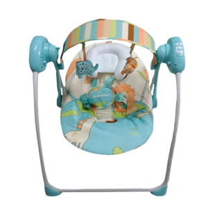 Nursery BabyDoes Cozy Electric Swing – Blue