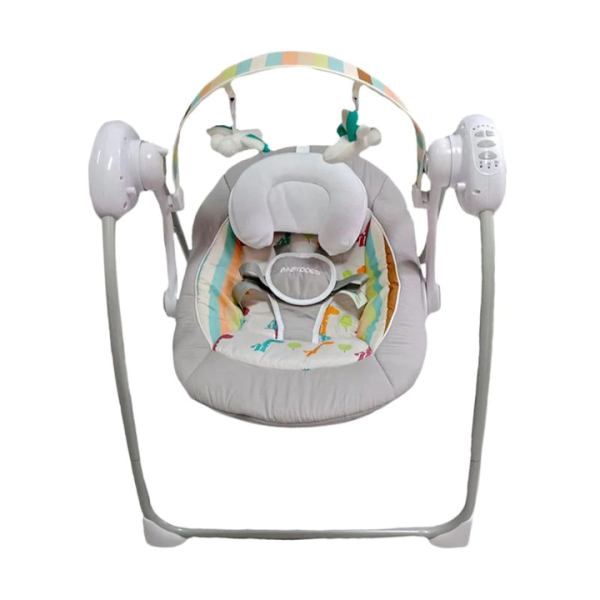 Nursery BabyDoes Cozy Electric Swing – Grey