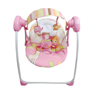 Nursery BabyDoes Cozy Electric Swing – Pink