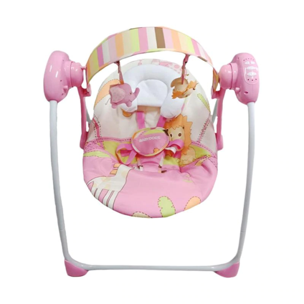 Nursery BabyDoes Cozy Electric Swing – Pink