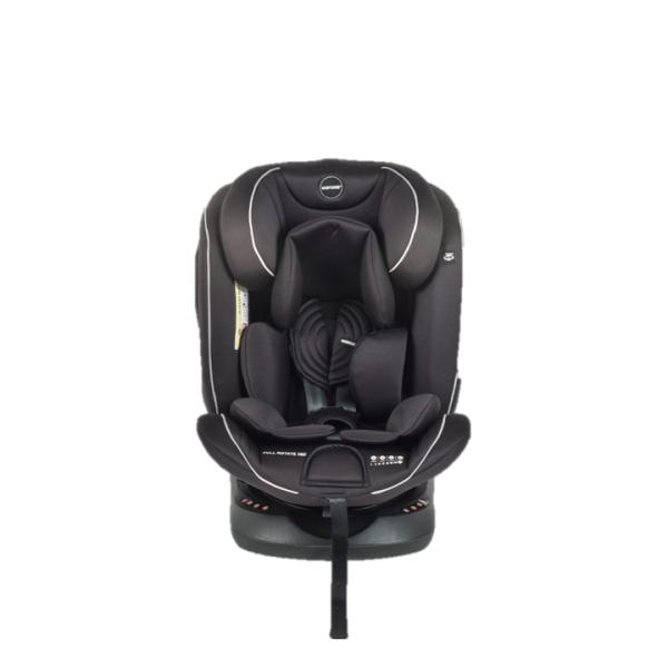 Babydoes Full Rotate 360 Isofix Carseat – Black