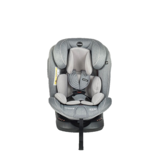 Babydoes Full Rotate 360 Isofix Carseat – Grey