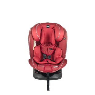 Babydoes Full Rotate 360 Isofix Carseat – Red