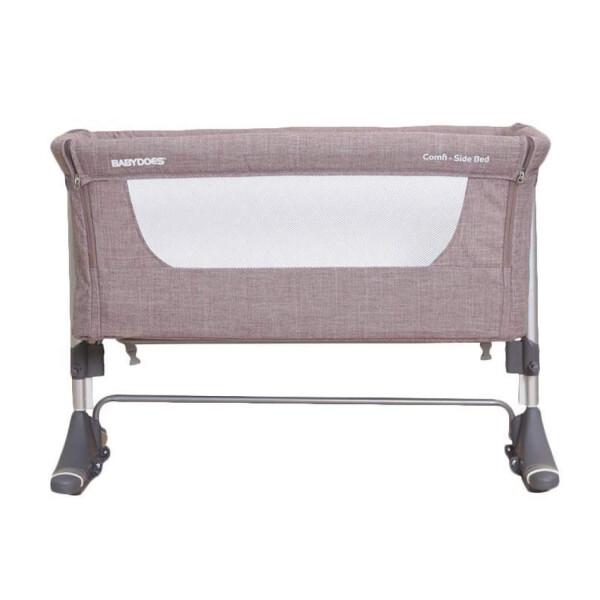 BabyDoes CH-165-BP Mini Comfi Side Bed Baby Box – Khaki 4