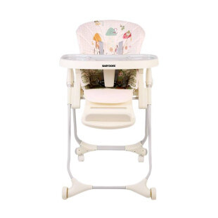 Gear BabyDoes CH-012BP Diners High Chair – Beige Castle