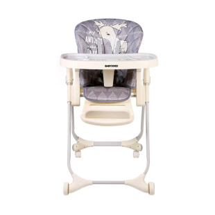 Gear BabyDoes CH-012BP Diners High Chair – Deer Grey