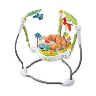 Toys Babyelle Jungle Jumperoo – White