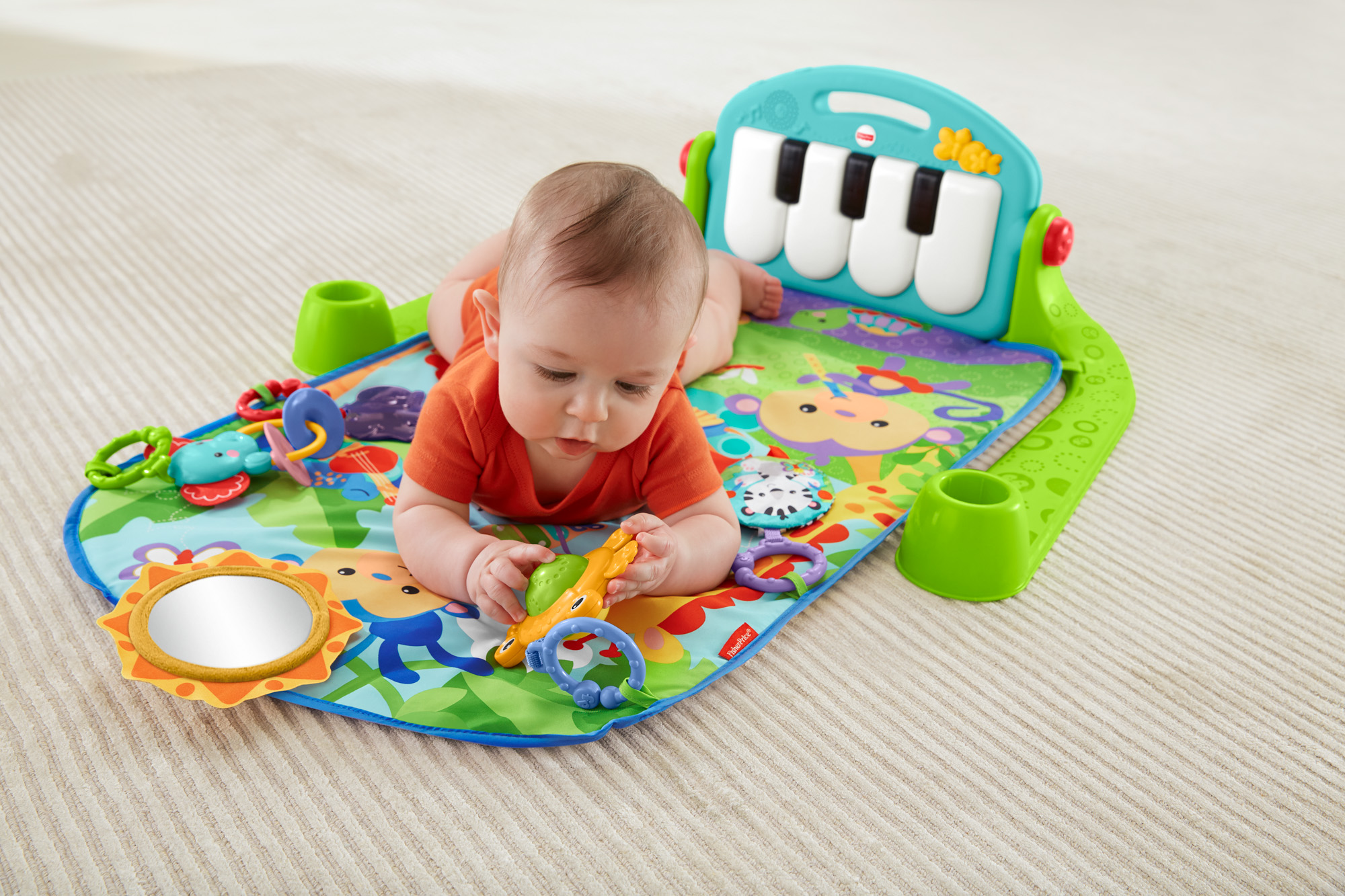 Fisher Price Deluxe Kick and Play Piano Gym 3