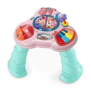 Bright Starts Safari Sounds Musical Learning Table – Pink Tosca