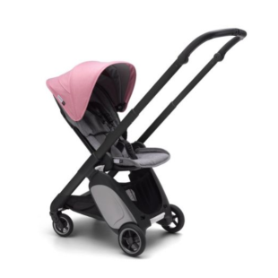 Stroller Bugaboo Ant Stroller Frame Black – Pink Melange
