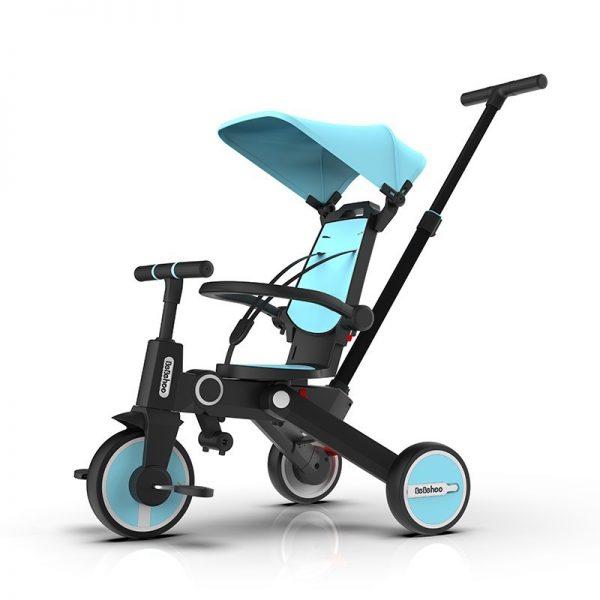 Bebehoo Gen 2 Folding Trike 3in1 – Blue Tosca