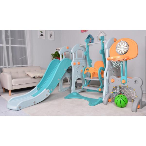 Toys Parklon Big Castle 5-in-1 Fun Slide & Swing – Tosca