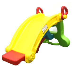 Toys Labeille Froggy 2 in 1 Slide to Rocker – Yellow
