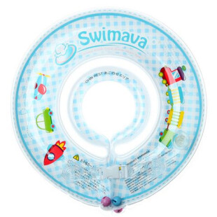 Gear Swimava G1 Starter Baby Floatie – Blue Train