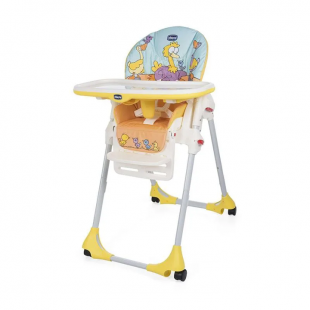 Chicco Polly Easy 2 In 1 High Chair – Birdland Yellow