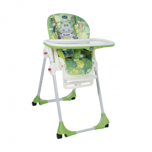 Chicco Polly Easy 2 In 1 High Chair – Happy Jungle Green