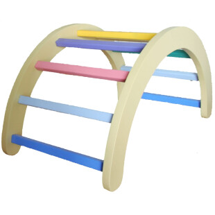 Pikler Climbing Arch – Pastel Color
