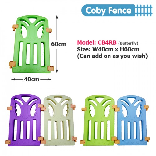 Play Fences Coby Haus Fence 8+2