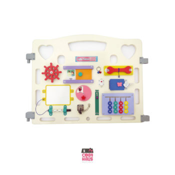 Toys Beezy Busy Board by Coby Haus – Captain