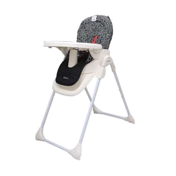 Cocolatte Keith Haring High Chair – Black White 2
