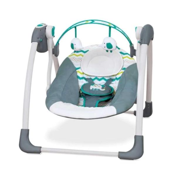 Nursery Cocolatte Weeler Deluxe Portable Swing – Grey Green